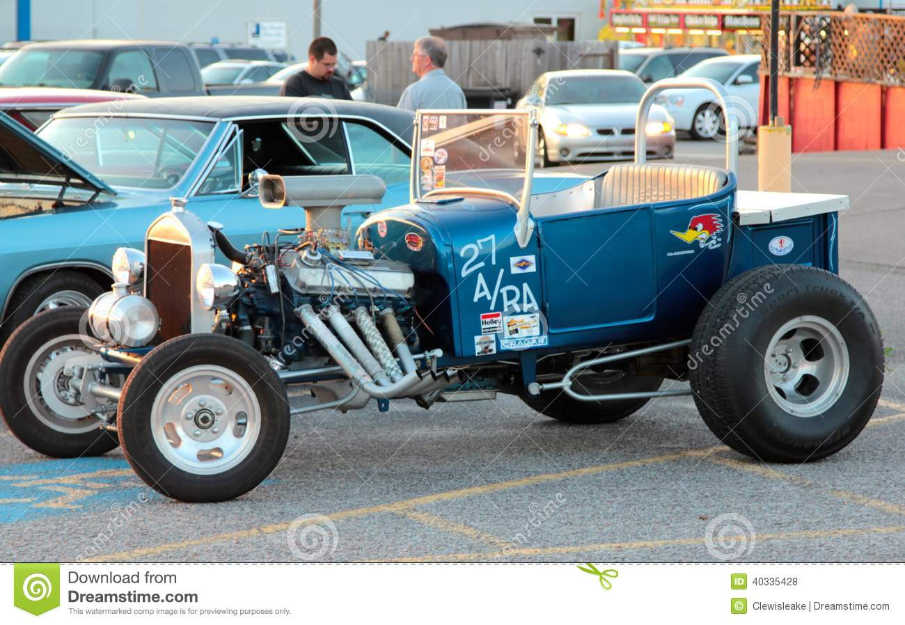 1923 Ford Model T Bucket Hot Rod Editorial Photo - Image of ...