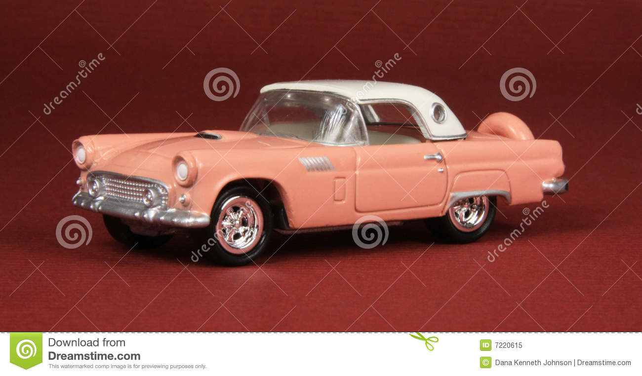 ford thunderbird 1955 royalty free stock photo image 7220615. Black Bedroom Furniture Sets. Home Design Ideas