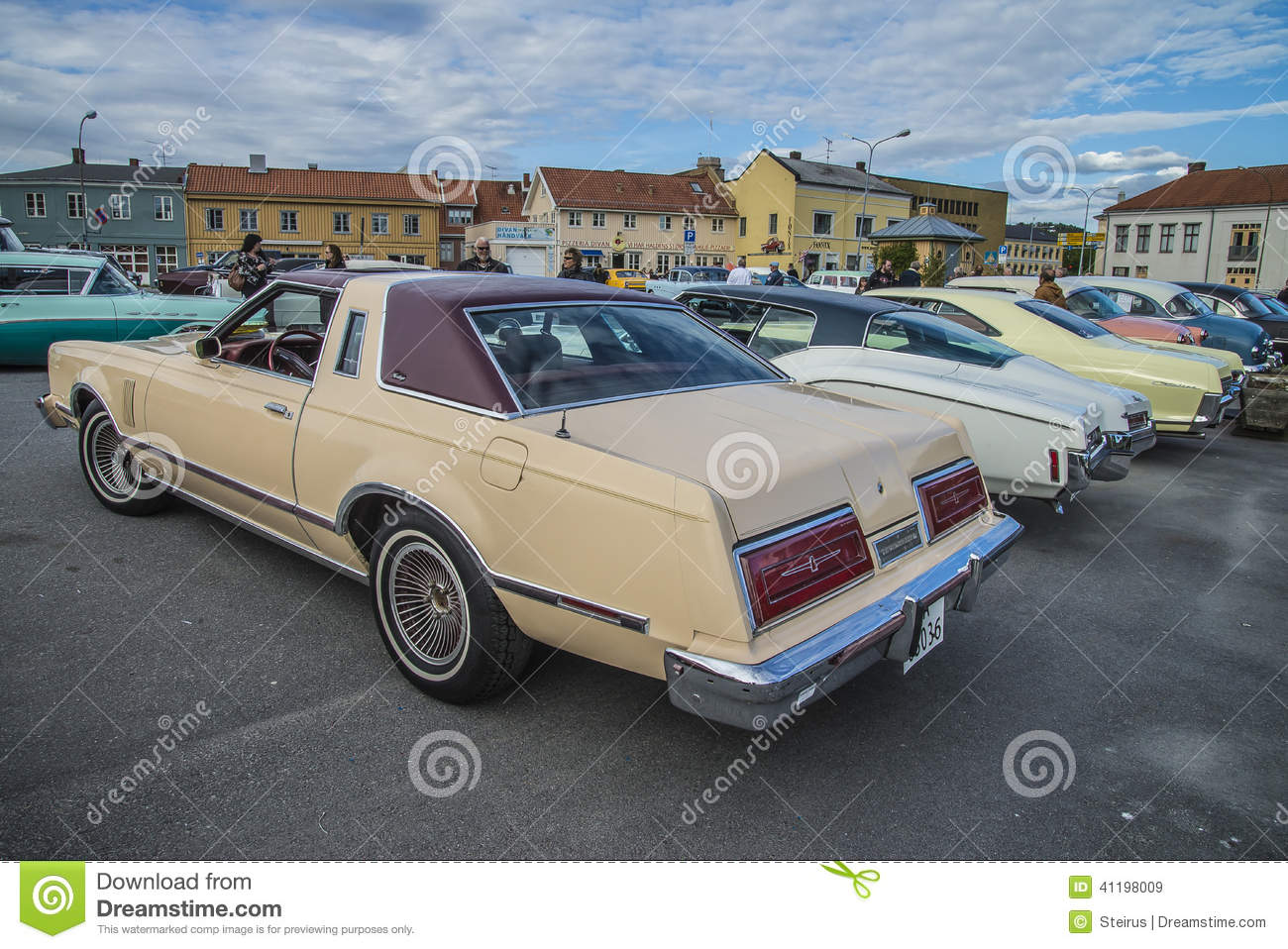 1979 ford thunderbird heritage edition editorial stock image image 41198009. Black Bedroom Furniture Sets. Home Design Ideas