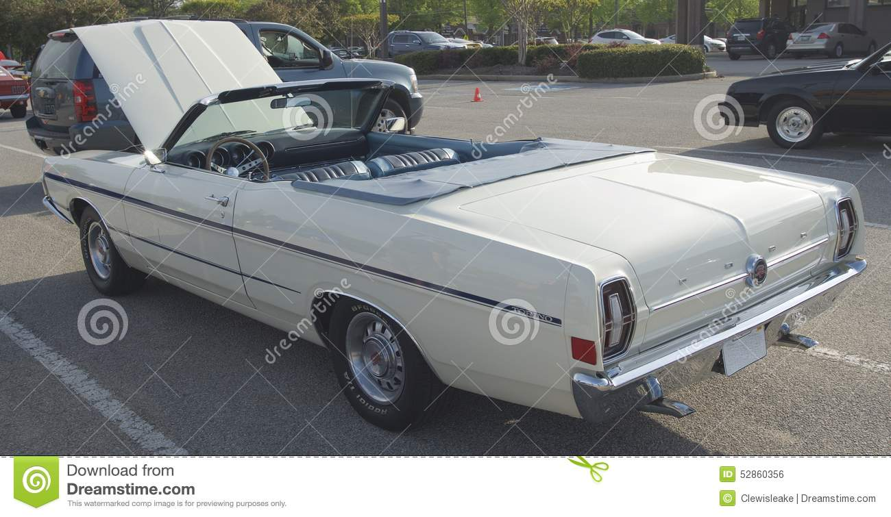 1968 Ford Torino Convertible Editorial Photo - Image of