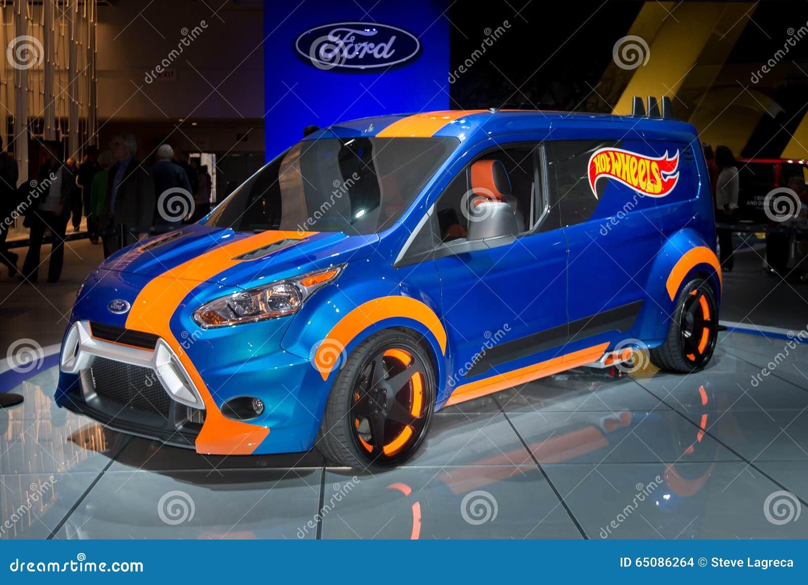 Ford Transit Connect Hot Wheels Imagem De Stock Editorial Imagem