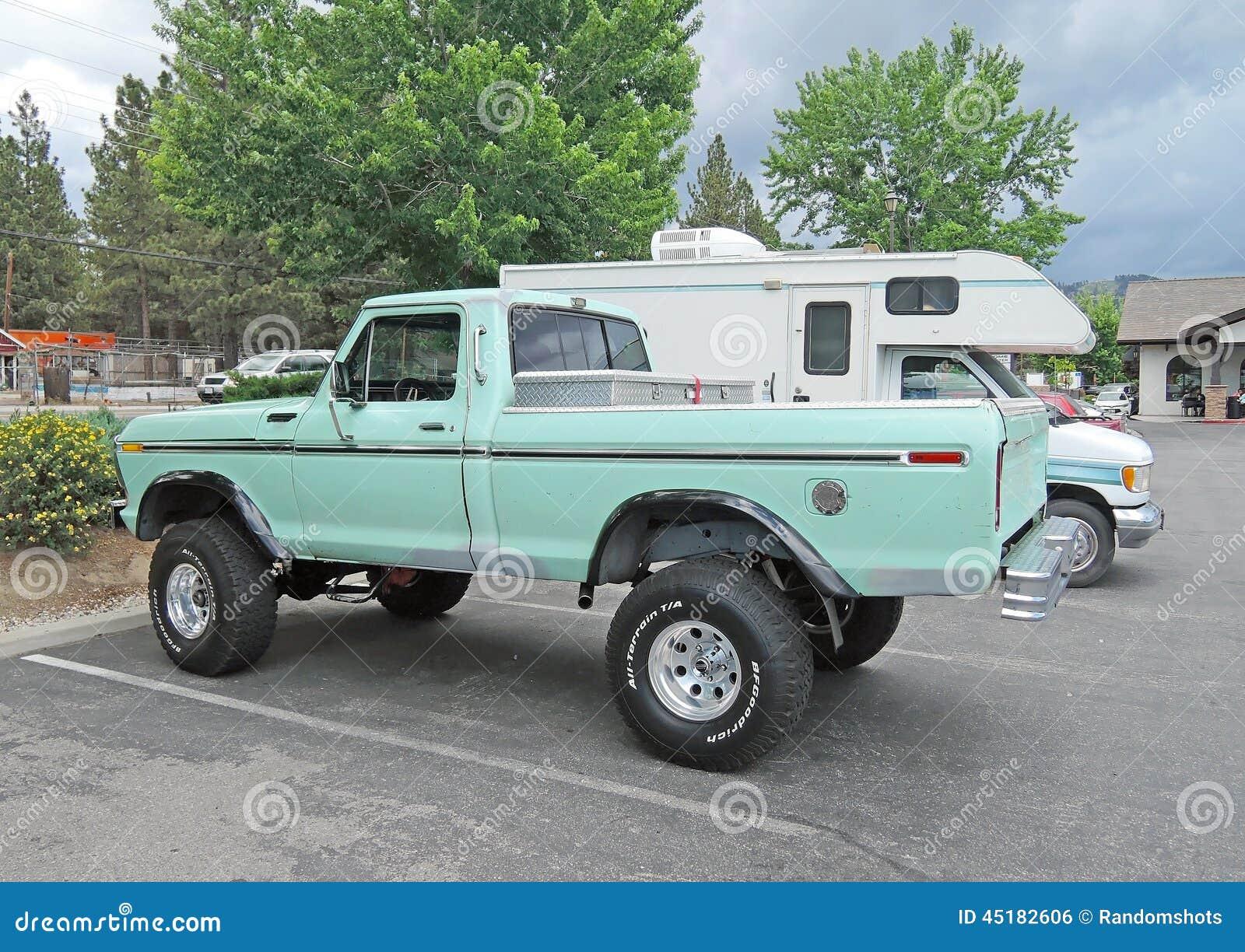 ford truck editorial photo image 45182606. Black Bedroom Furniture Sets. Home Design Ideas