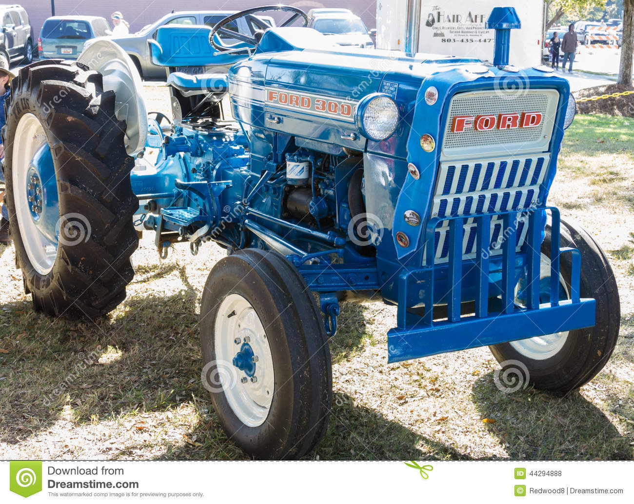 Ford 3000 Tractor Mechanical Blueprint : Ford utility tractor editorial stock photo image
