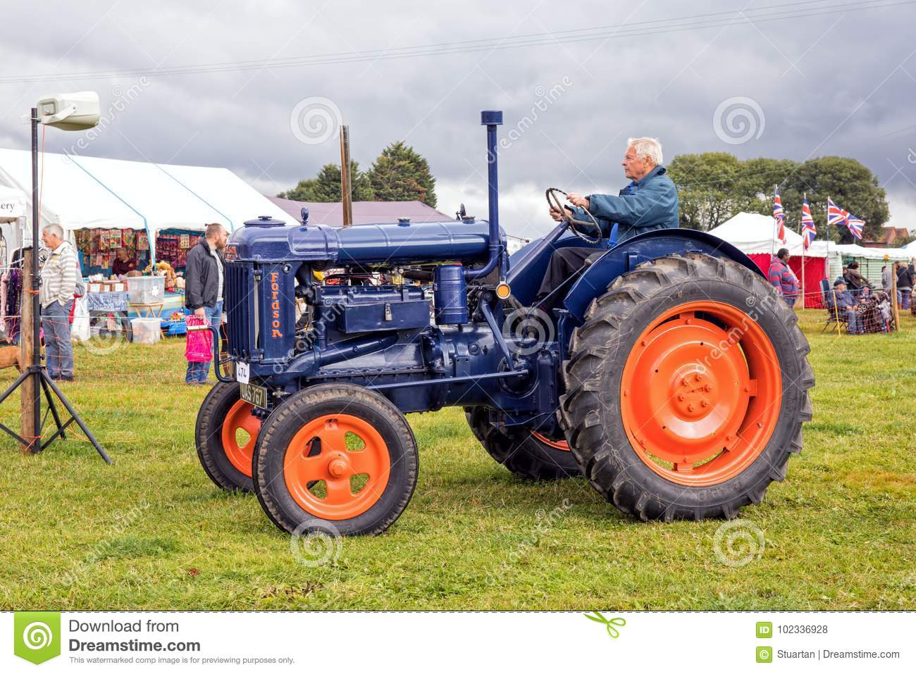 Fordson E27N Major Tractor