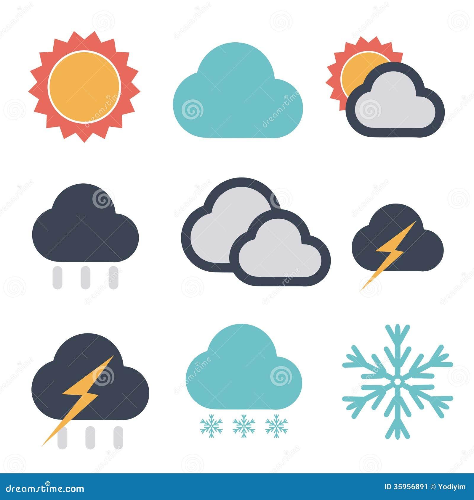 forecast icon stock image image 35956891