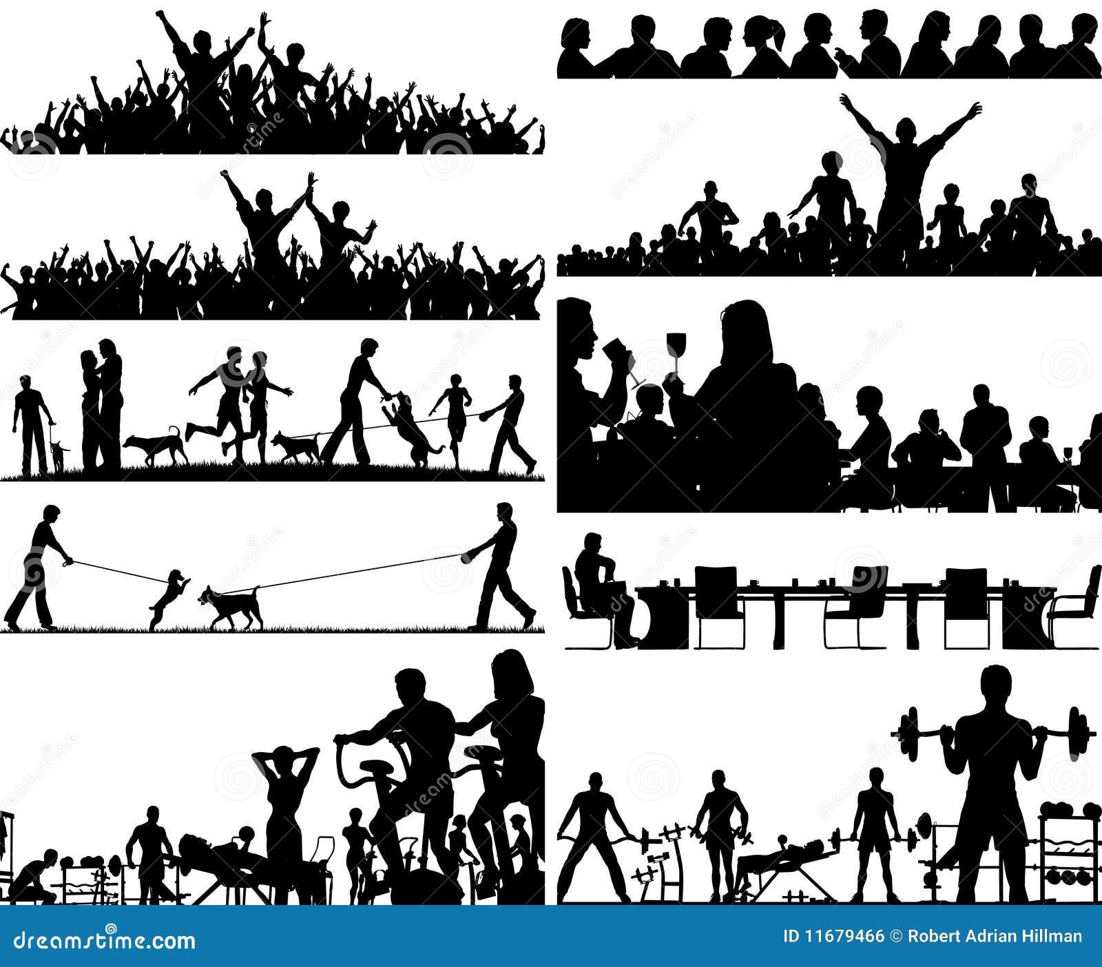 Foregrounds de gens
