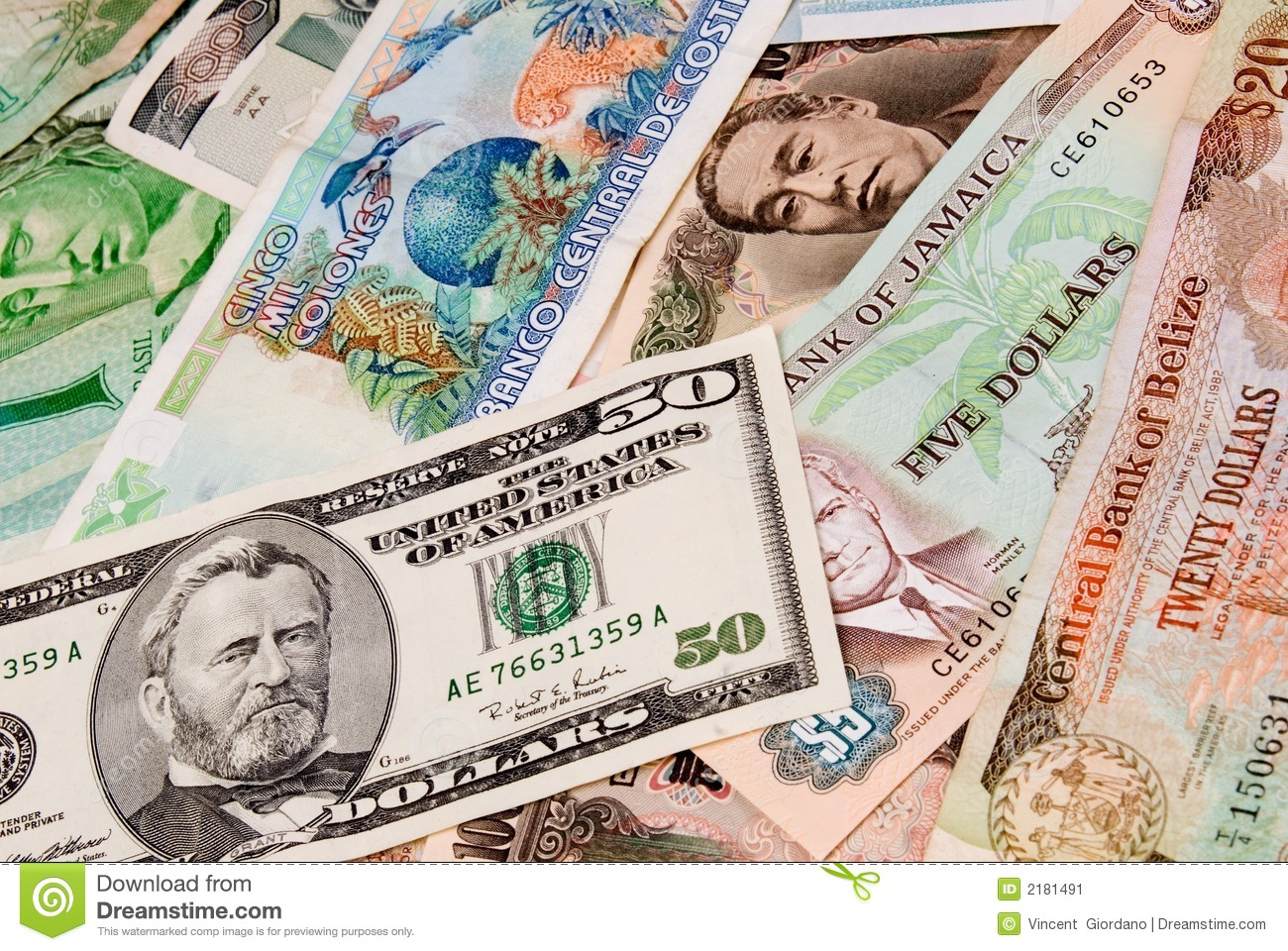 Foriegn currencies
