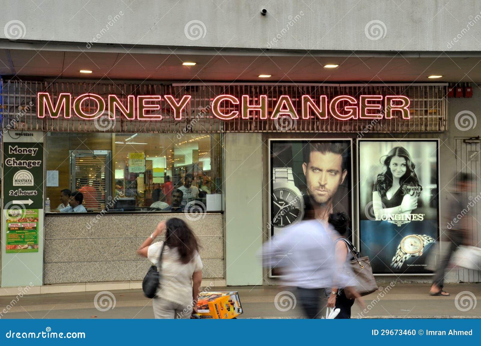Mustafa forex money changer