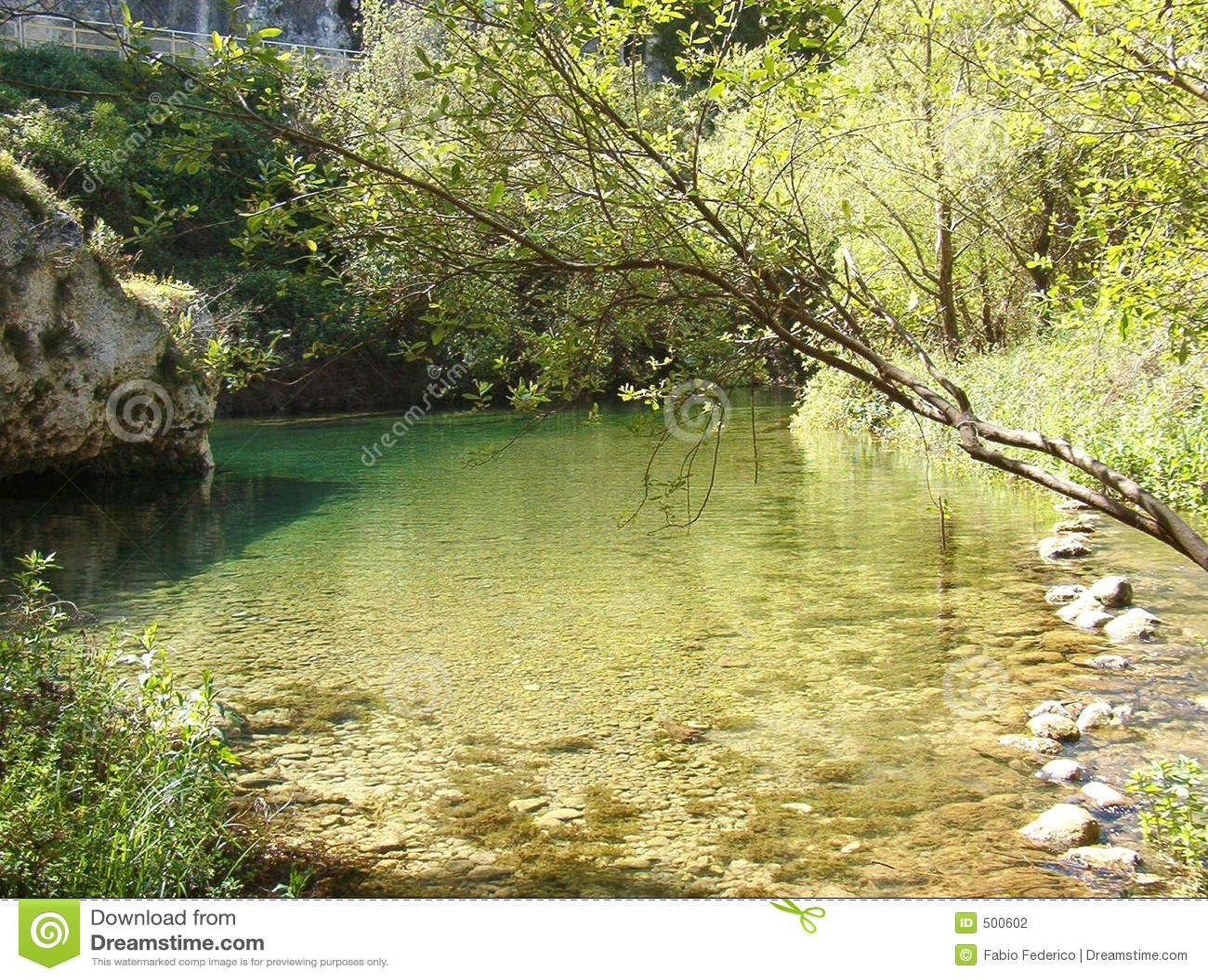 Foreshortening flod för anapo