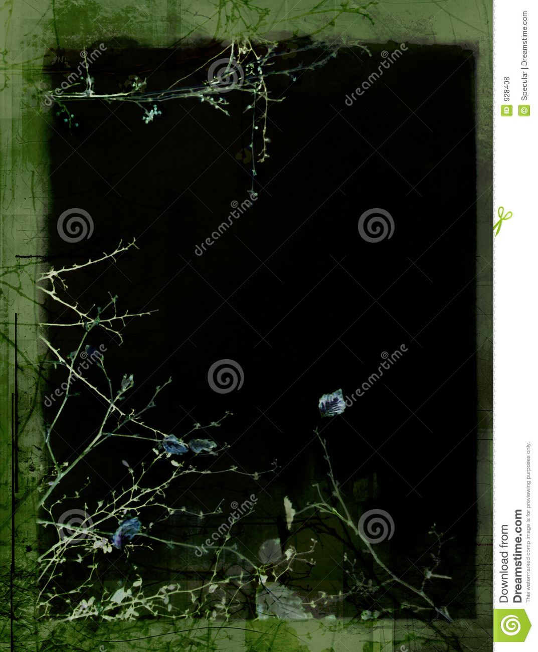 Forest Border Stock Photo. Image Of Creased, Frame