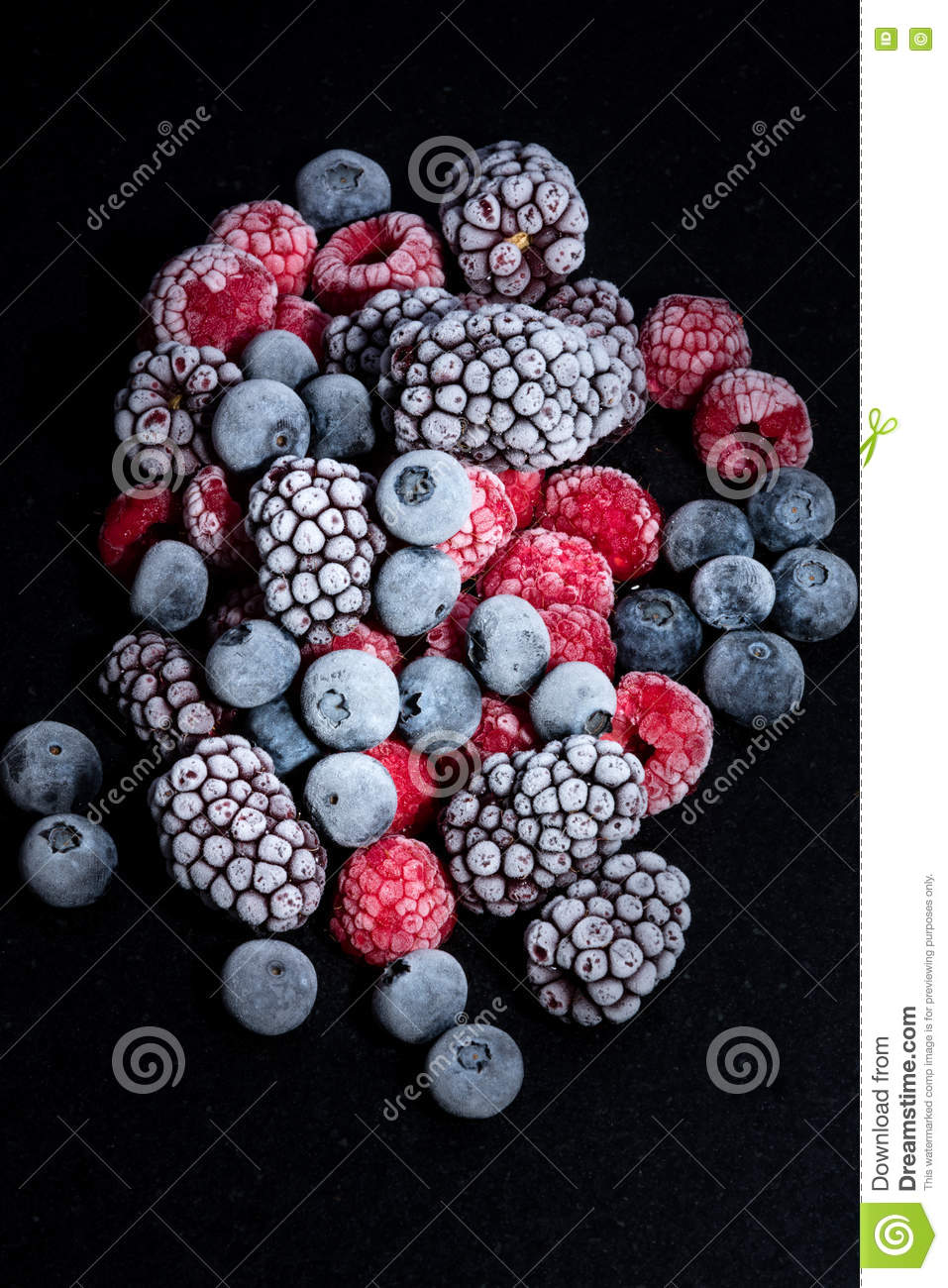 Forest fruits frozen