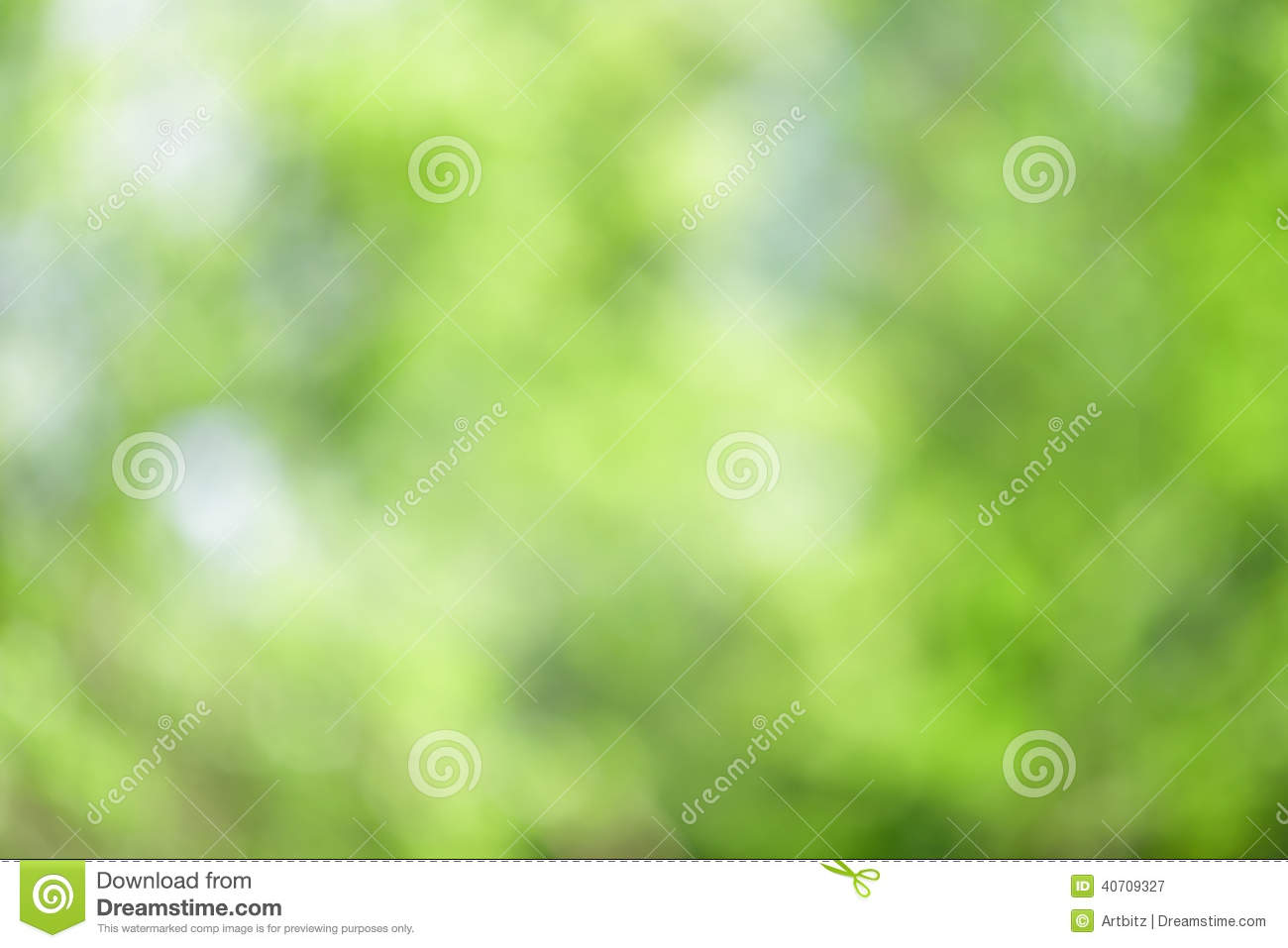 Forest Nature Background abstrato verde