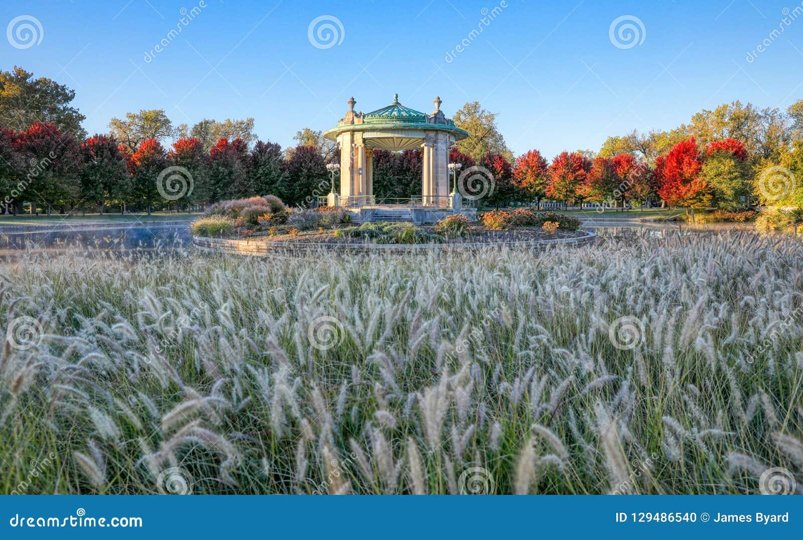 Forest Park-muziektent in St.Louis, Missouri
