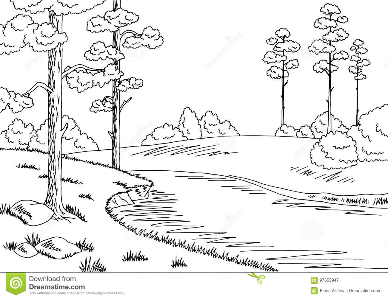 river black white stock illustrations 18 656 river black white stock illustrations vectors clipart dreamstime https www dreamstime com stock illustration forest river graphic black white landscape sketch illustration vector image97653947