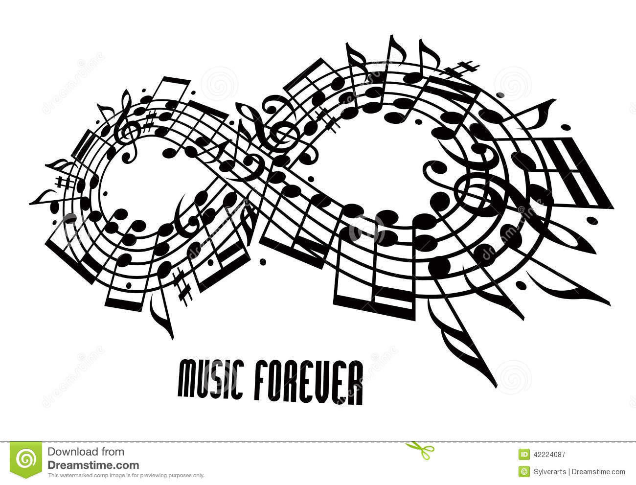 Infinity bass guitarrever music concept infinity symbol made forever music concept infinity symbol made with musical buycottarizona