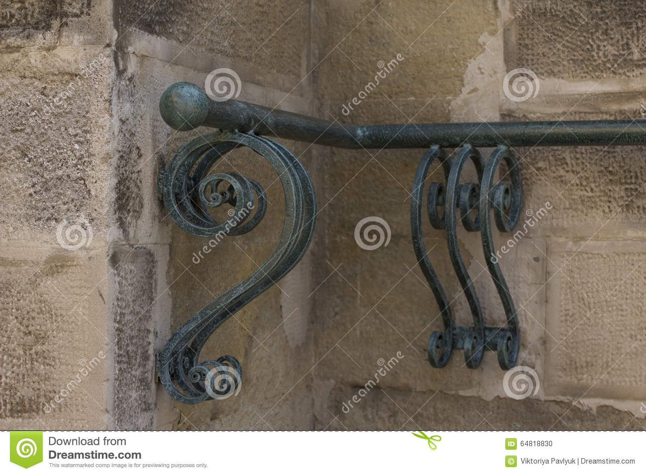 Forged handrails