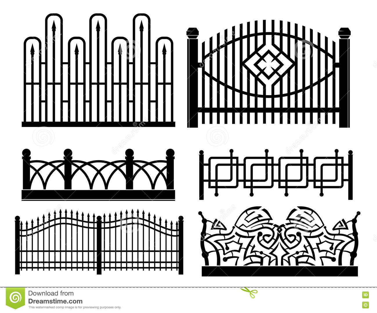 forged metal fences design iron railings 77324258 green wire fence 7 on green wire fence