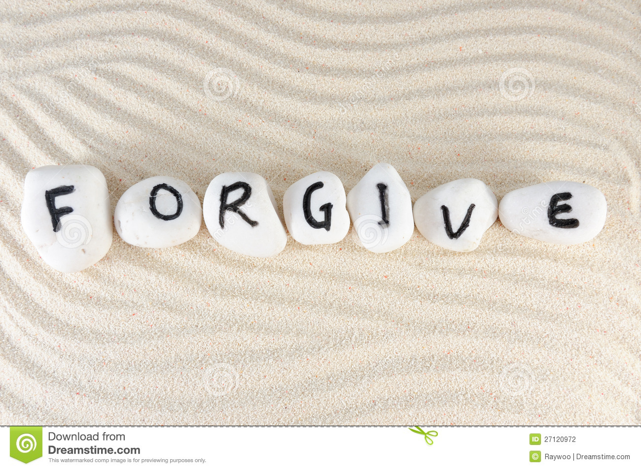 Download Forgive stock photo. Image of cobble, inscription, letter - 27120972