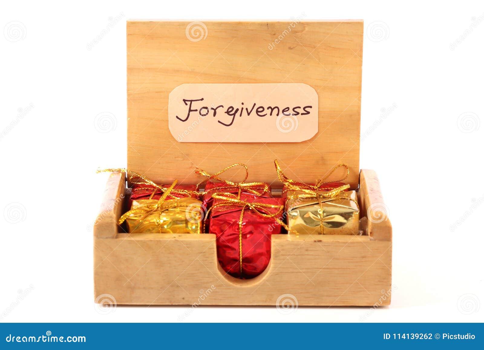 Forgiveness gifts