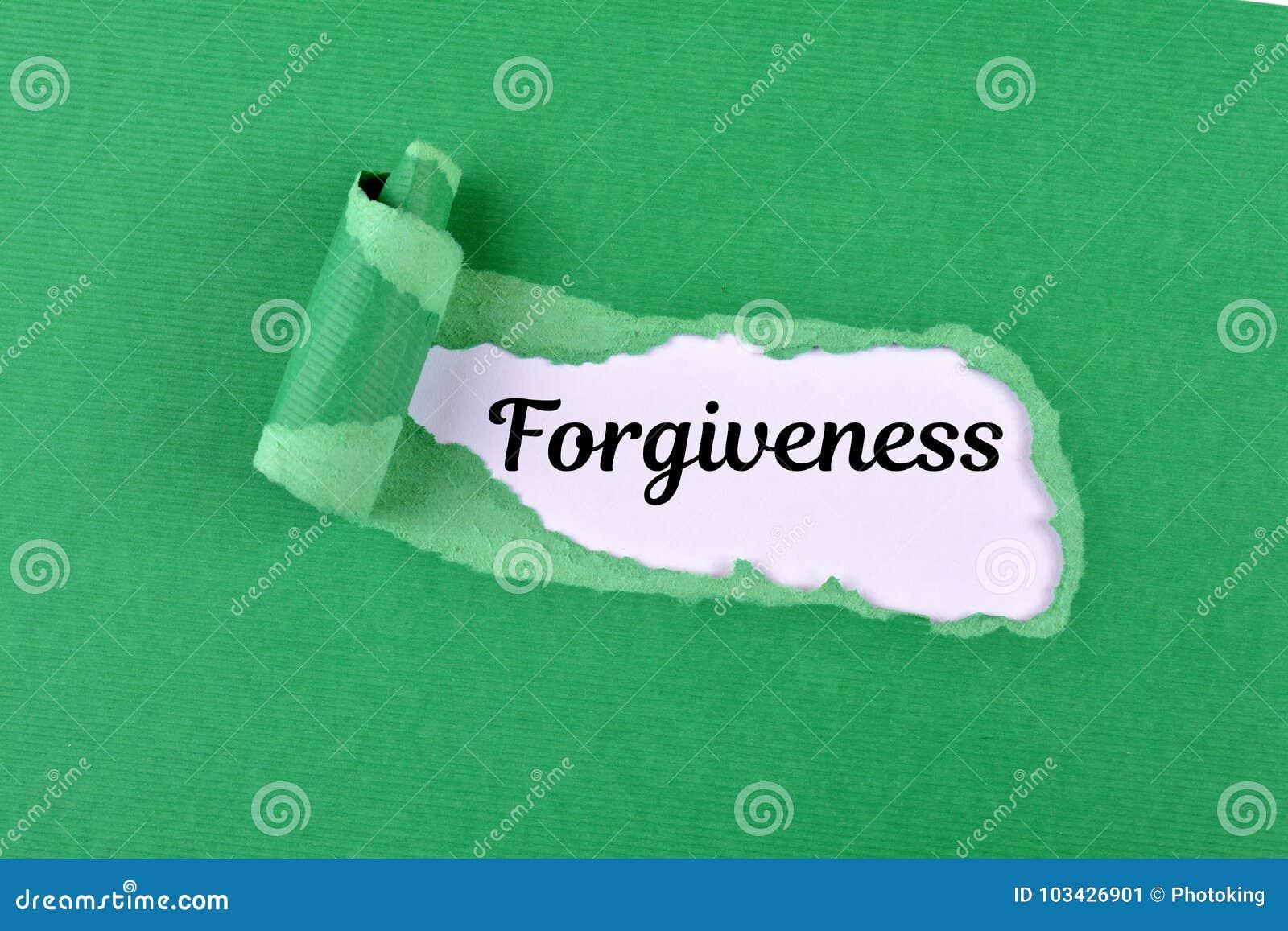 Forgiveness word