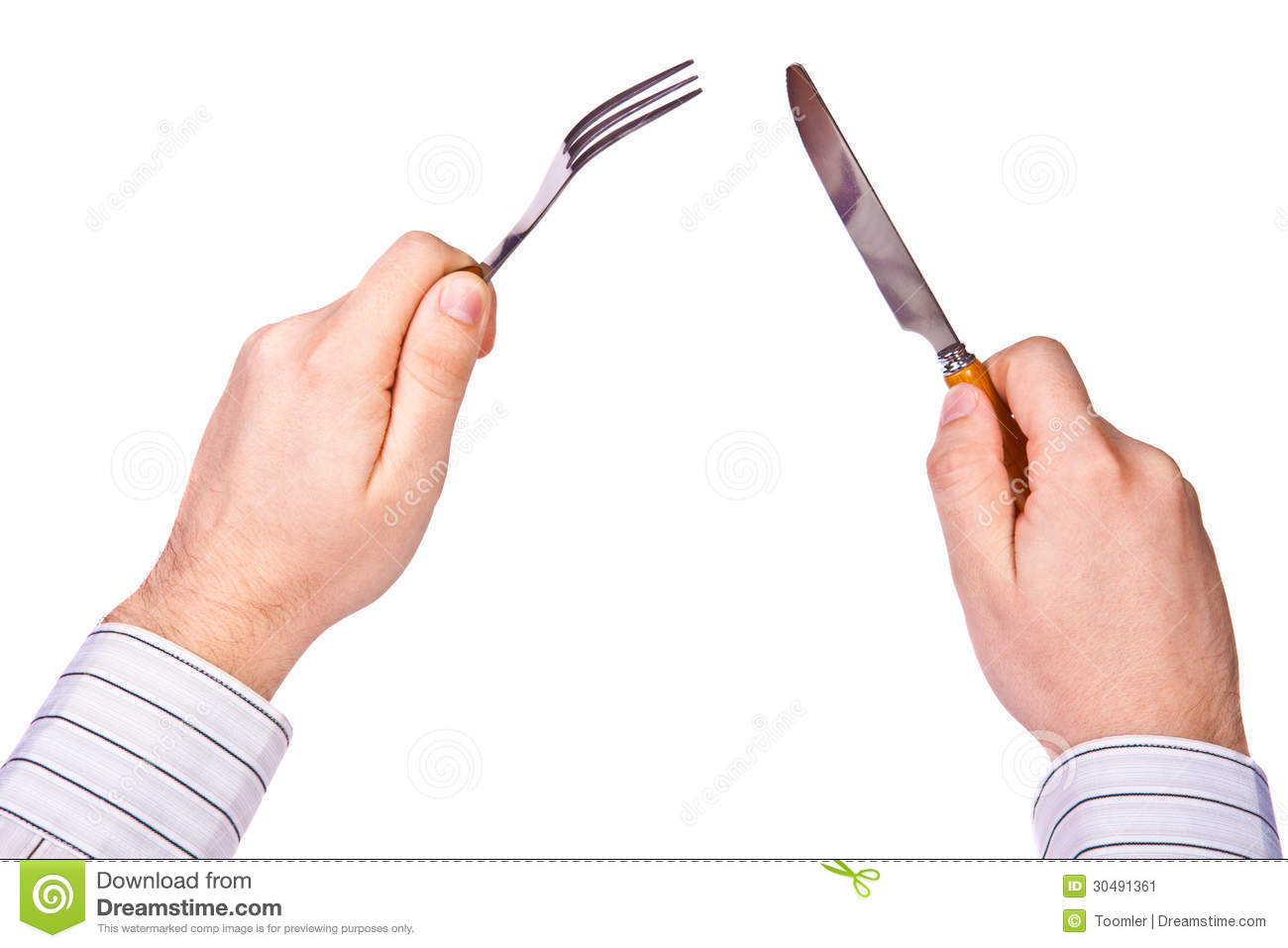 Fork And Knife In Hand Stock Image Image 30491361 : fork knife hand men s hands hold 30491361 from www.dreamstime.com size 1300 x 957 jpeg 80kB
