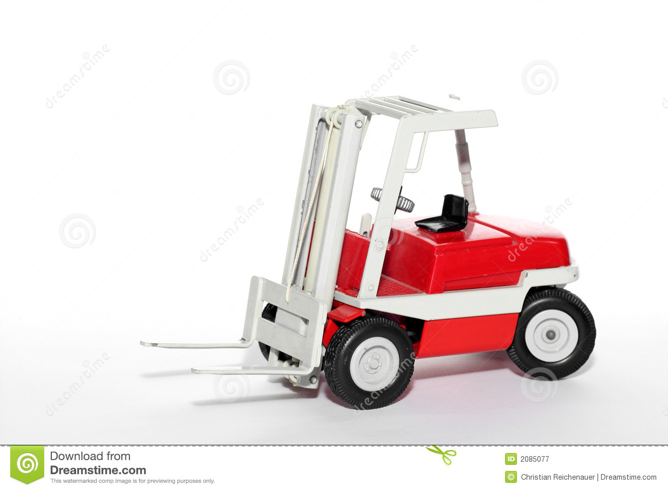 Fork lift toy car