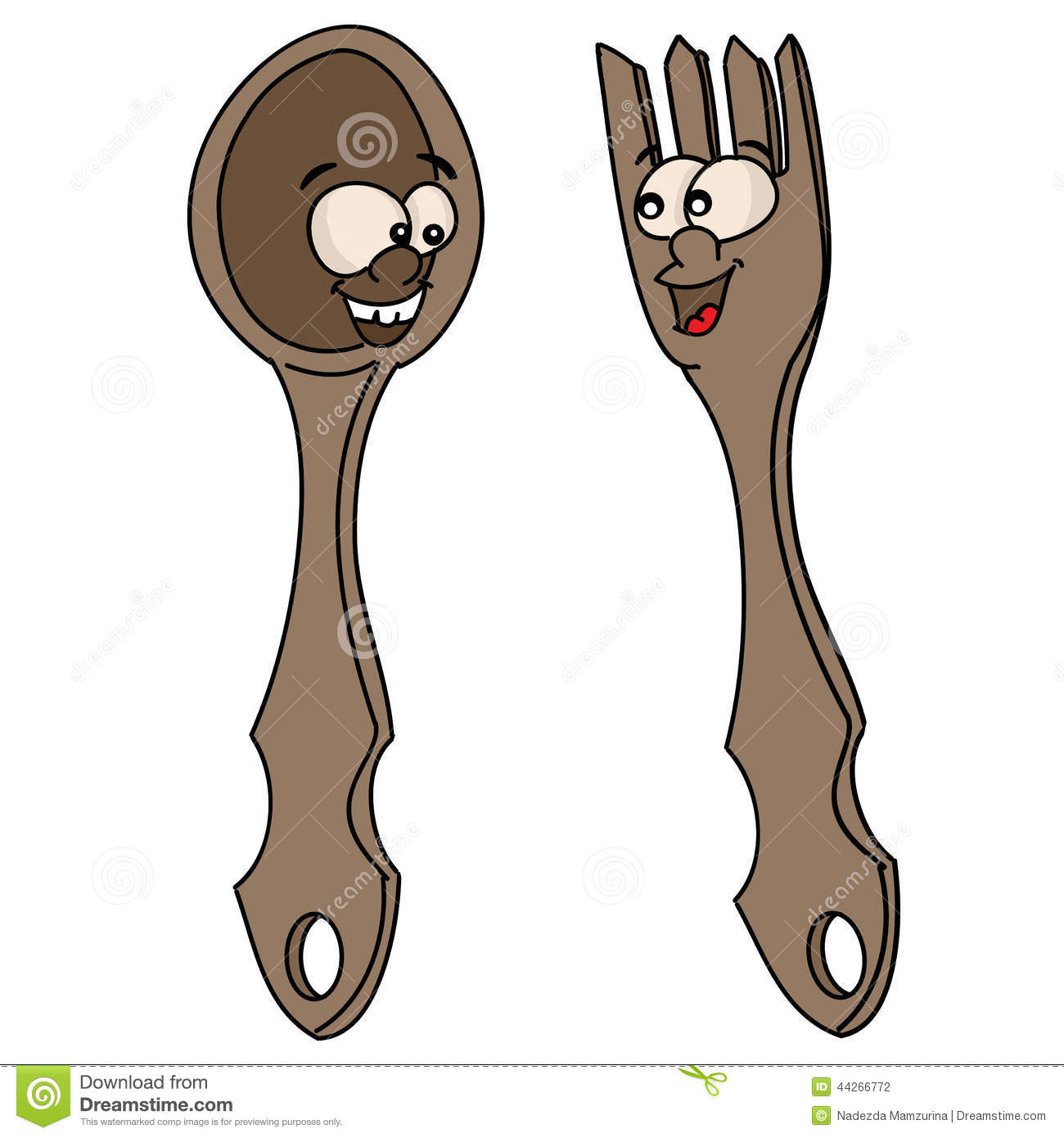 Fork And Spoon ...