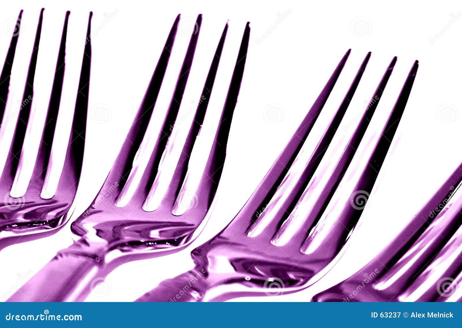 Forkes púrpuras