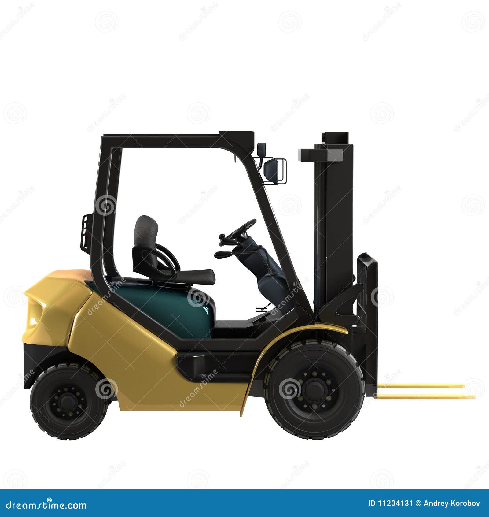 Forklift βιομηχανικός που απομ&omic