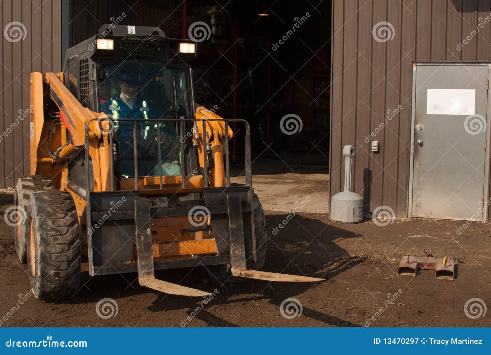 Forklift γυναίκα χειριστών