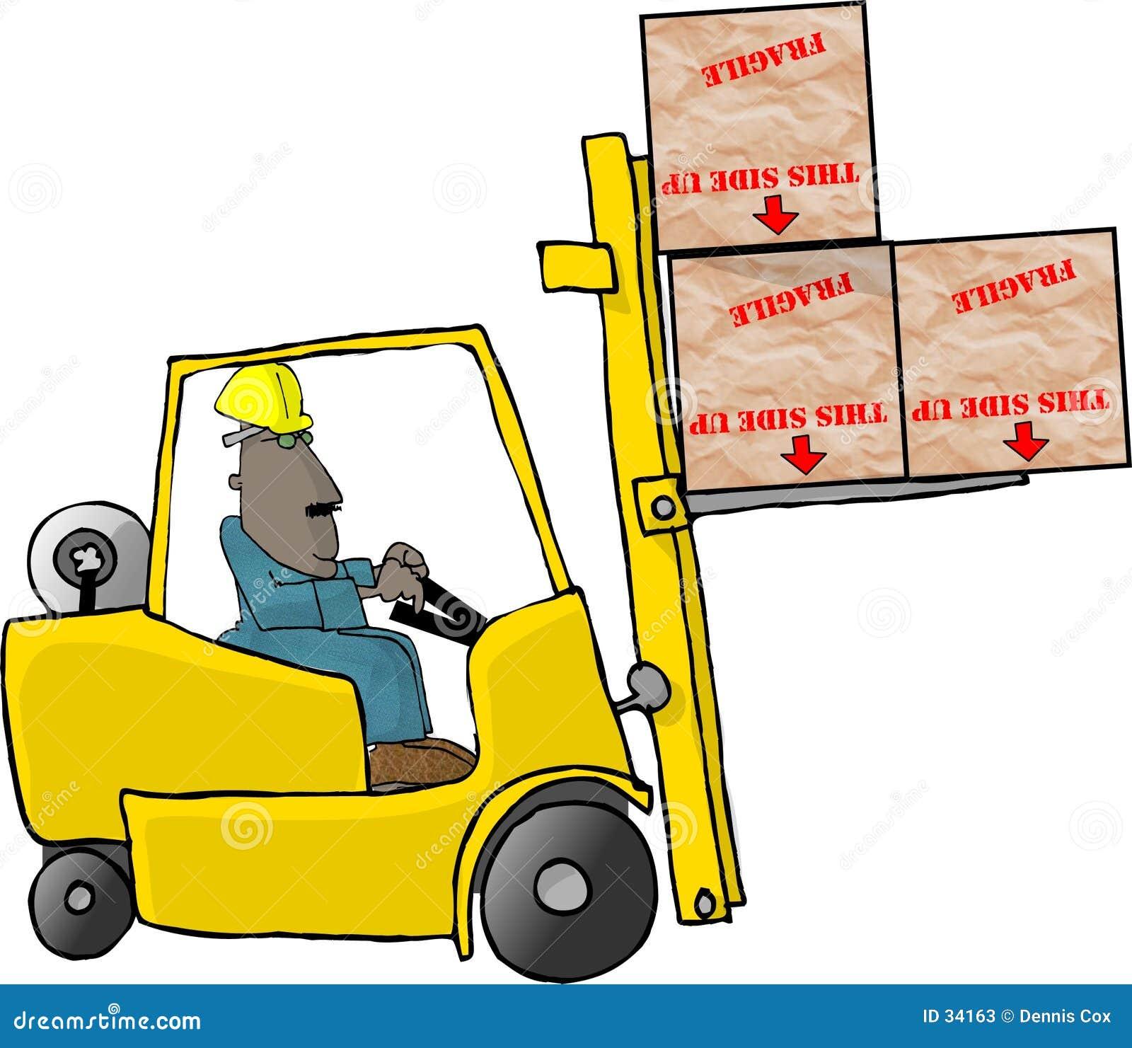 Forklift χειριστής