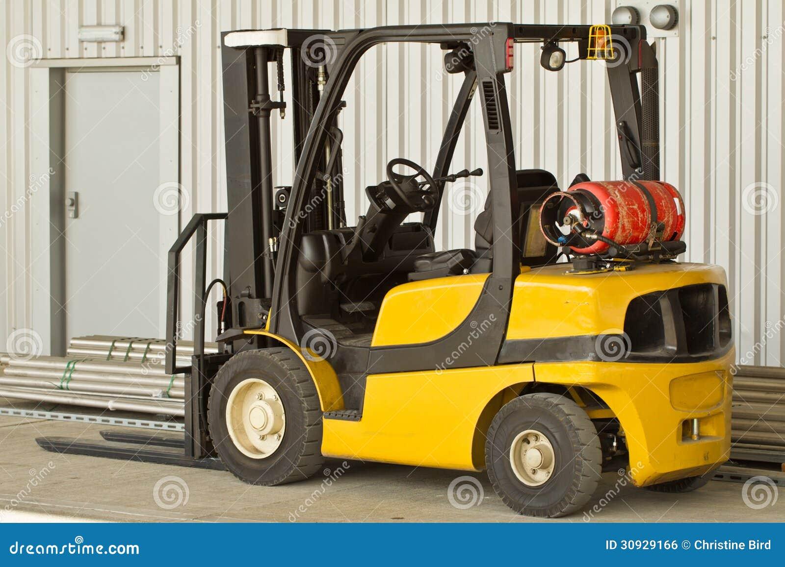 Forklift ciężarówka