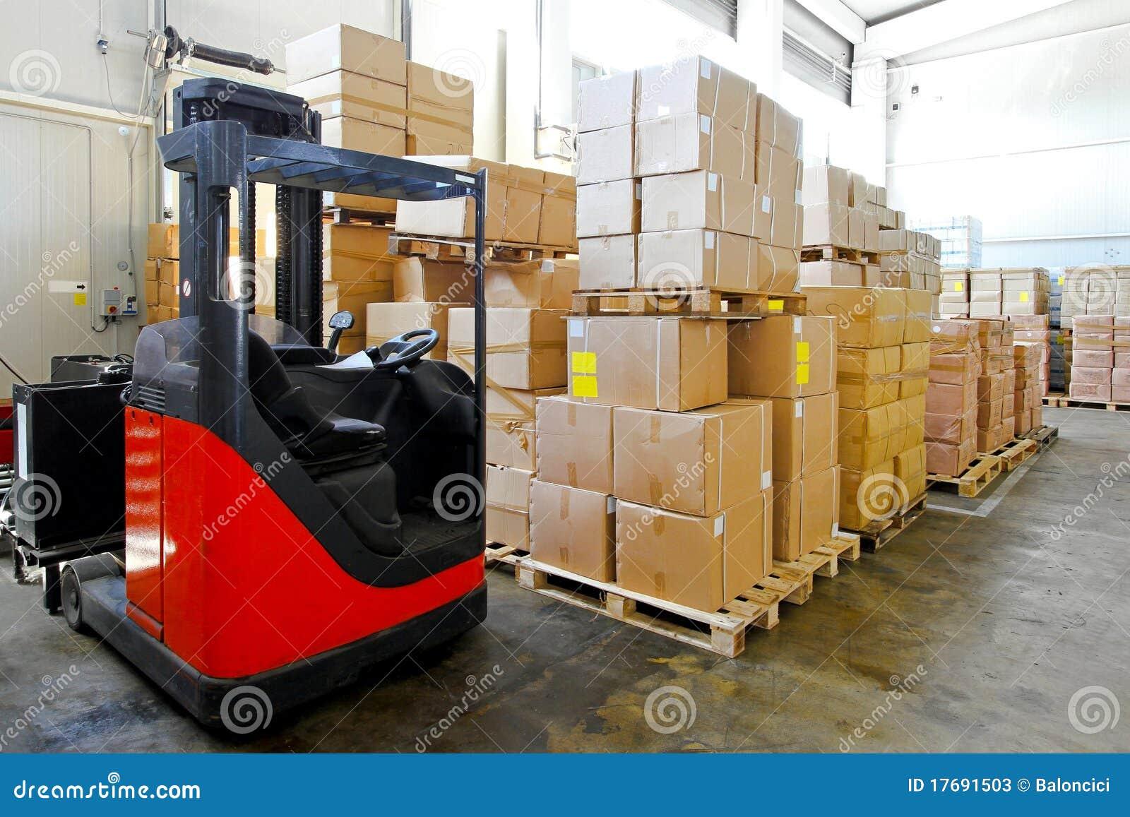 Forklift magazyn