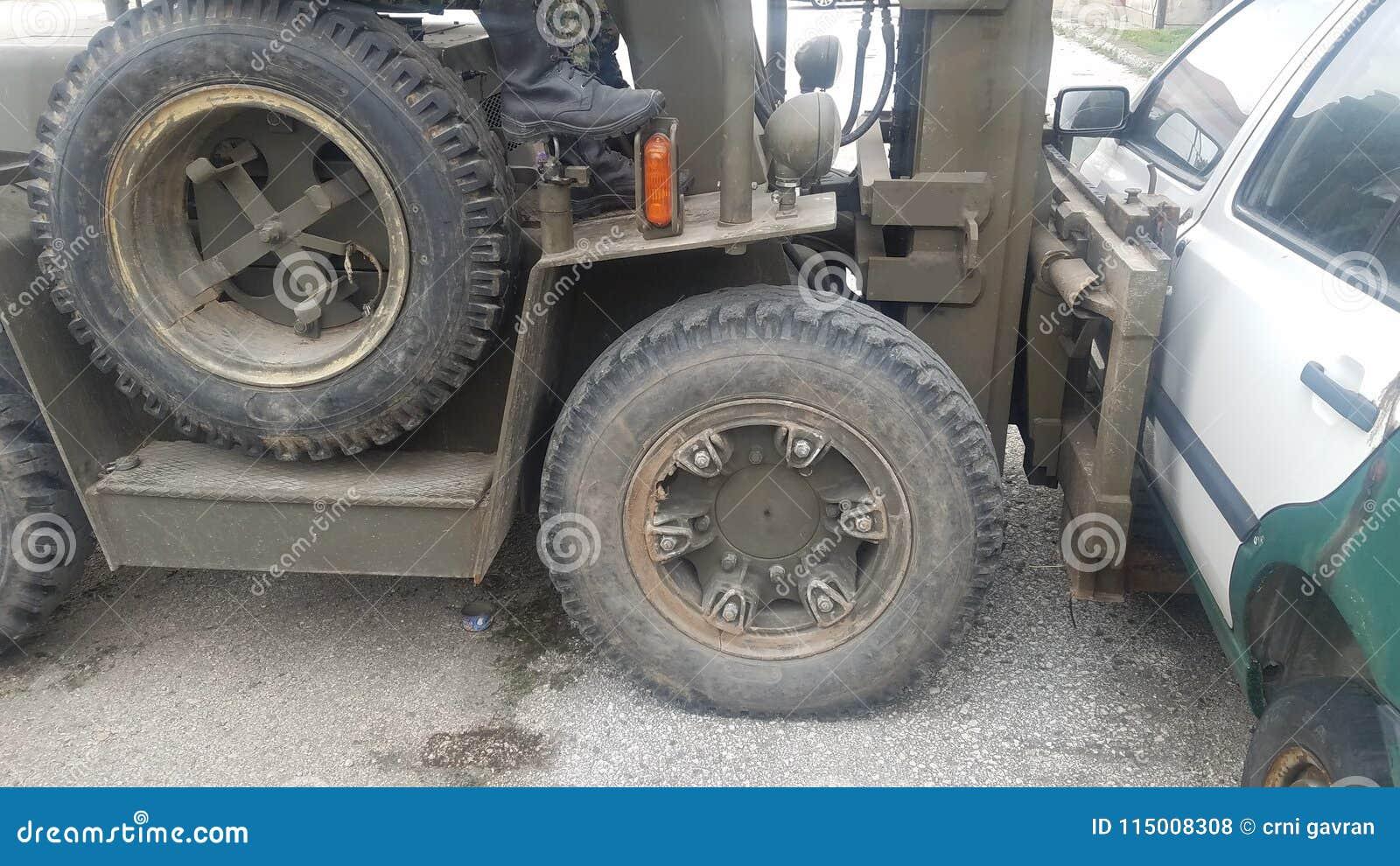 Forklift plenerowy działanie