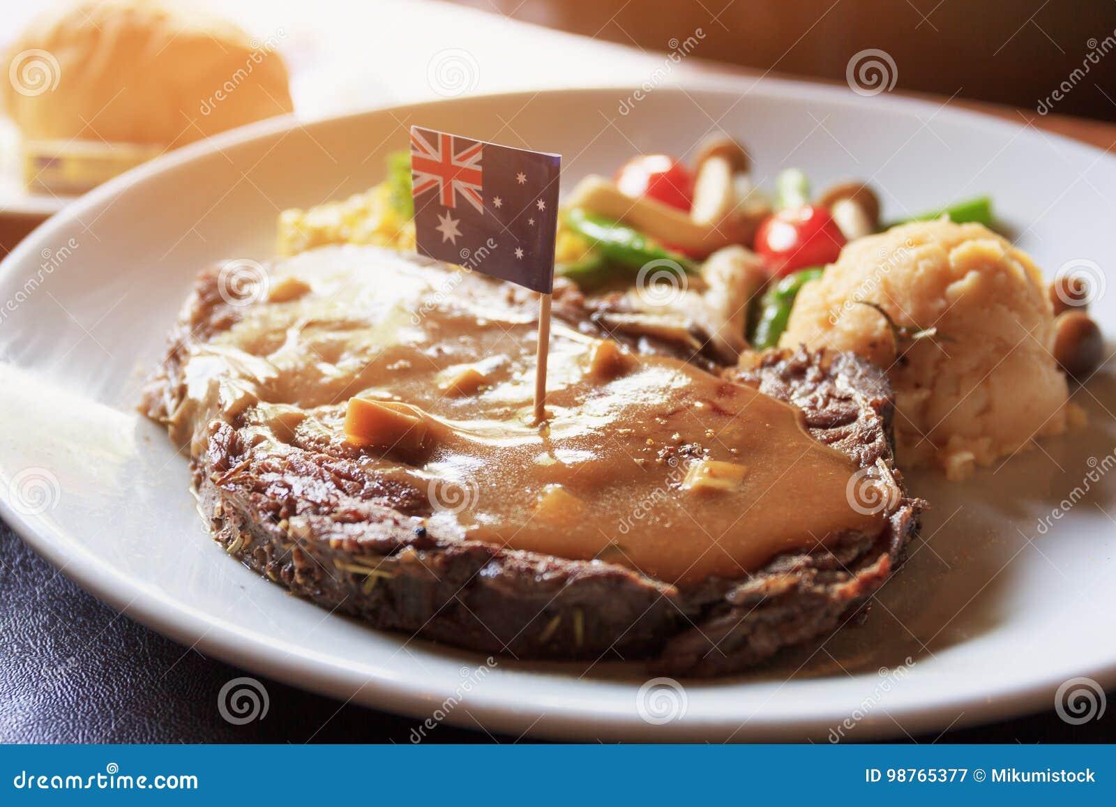 Form Australien för import för biff för frukoststorgubbenötkött