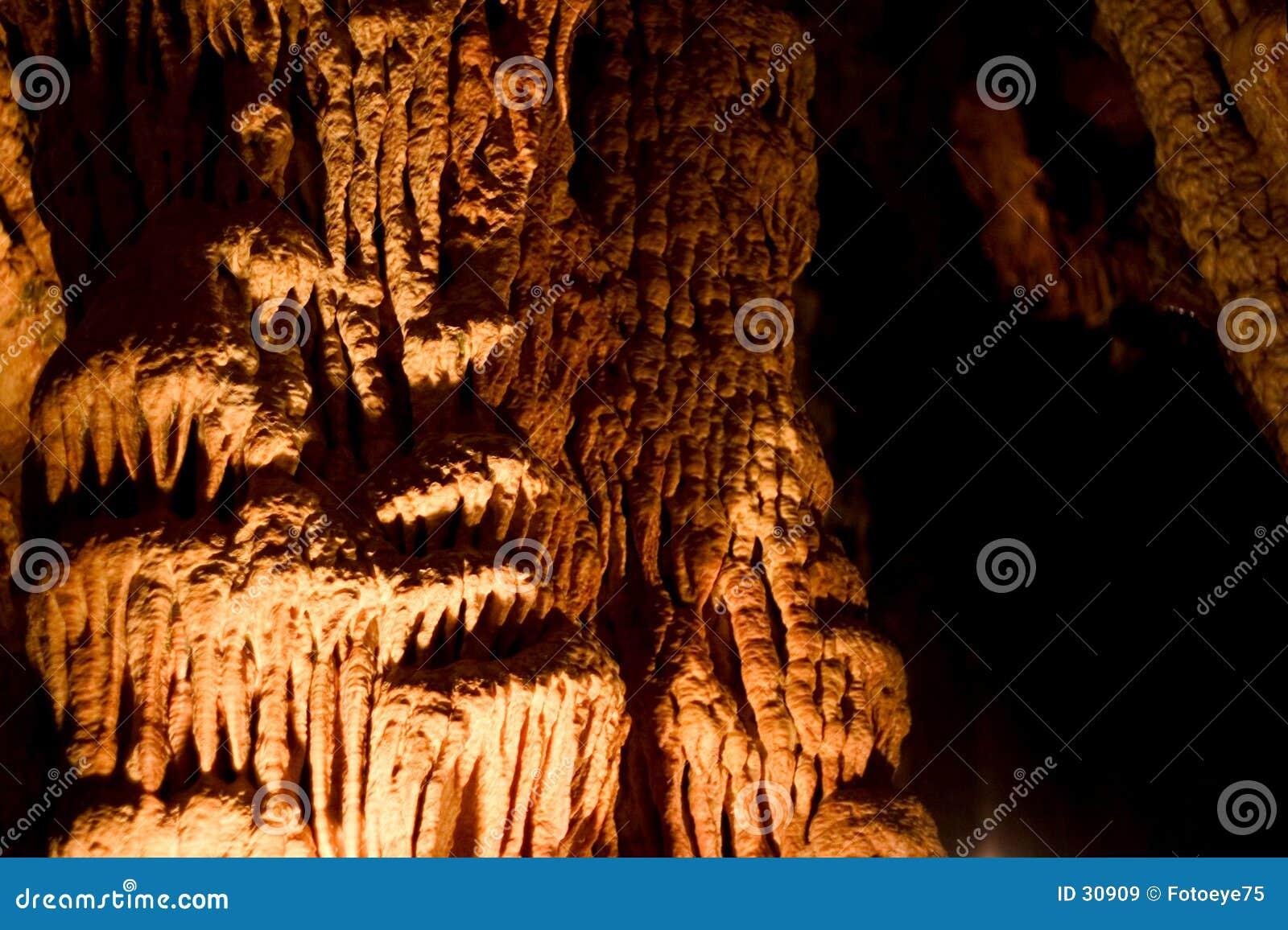 Formações da caverna