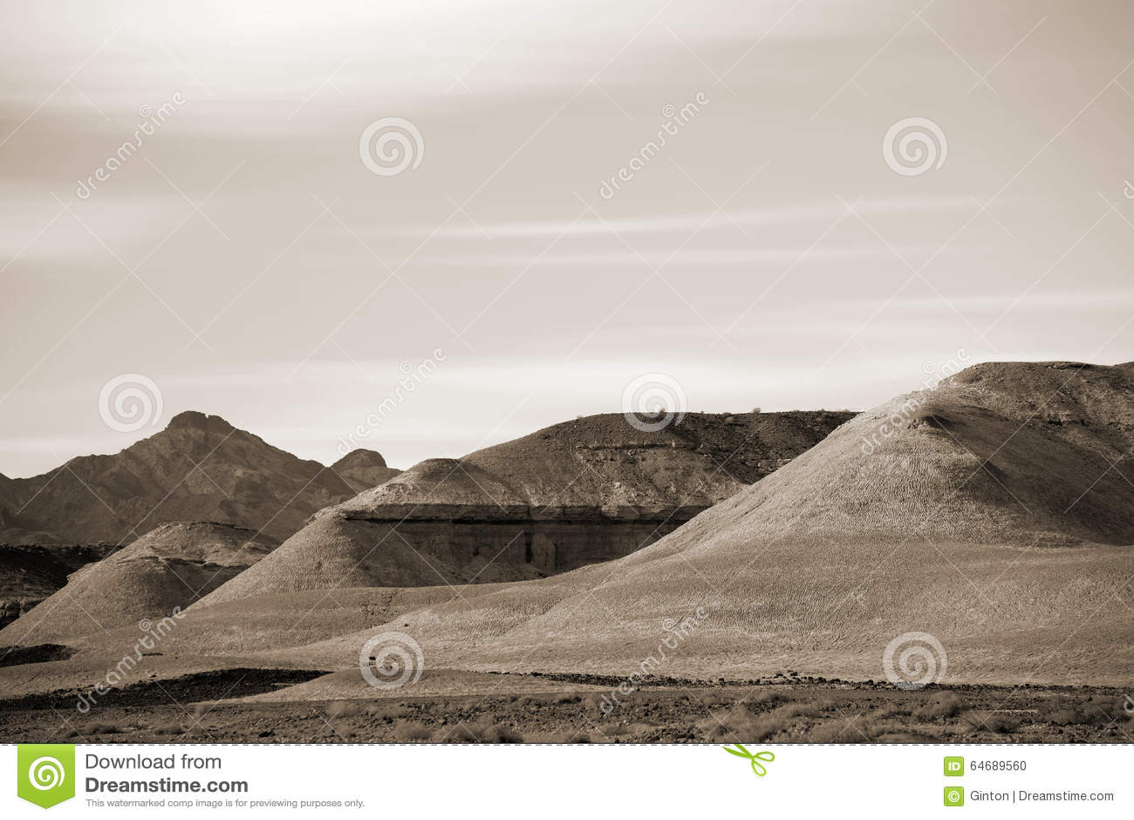 Formações de rocha no Mojave