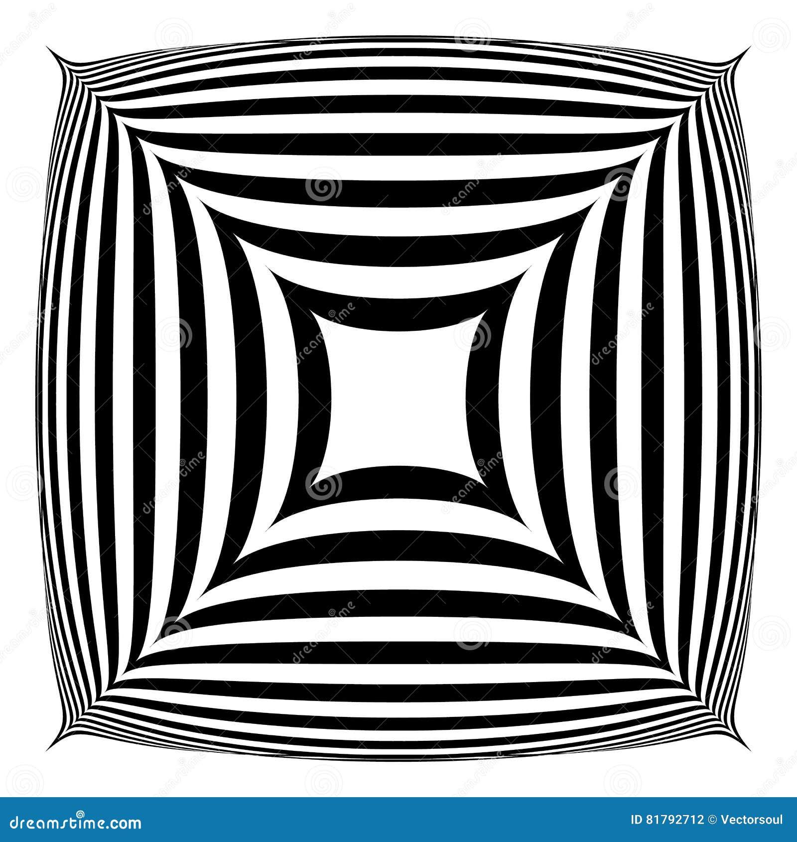 Forma abstrata geométrica Squarish