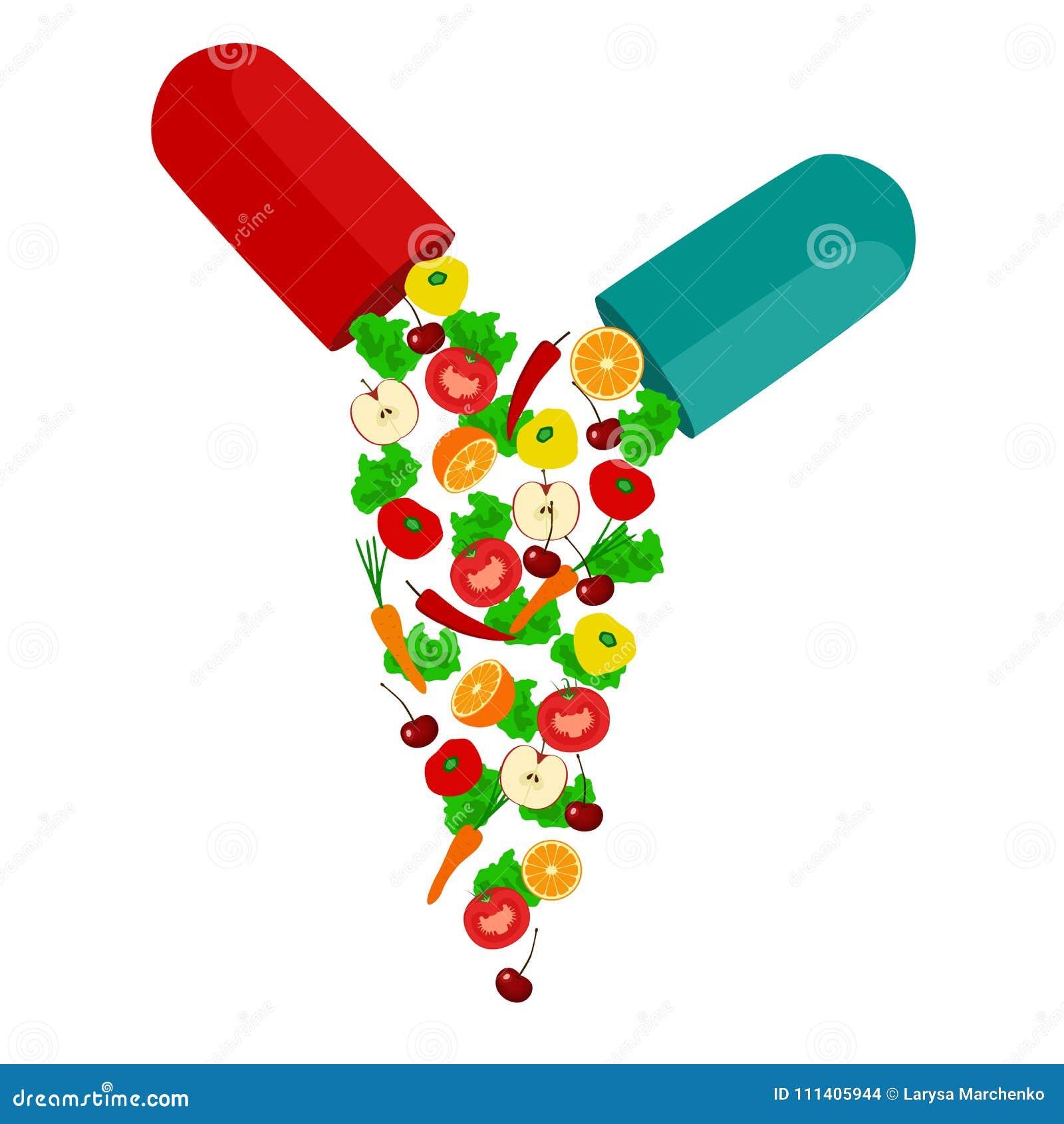 Forma de vida sana Vitaminas