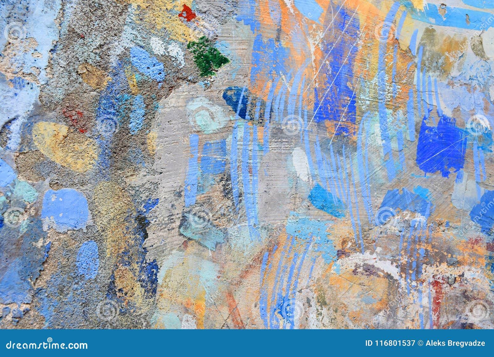 Forma della pittura di spruzzo sulla parete