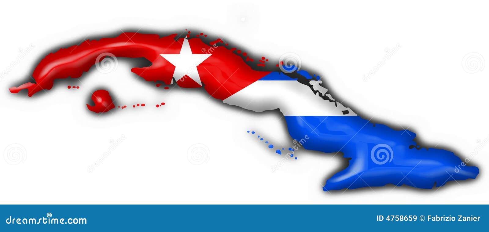 forma-do-mapa-da-bandeira-da-tecla-de-cuba-4758659