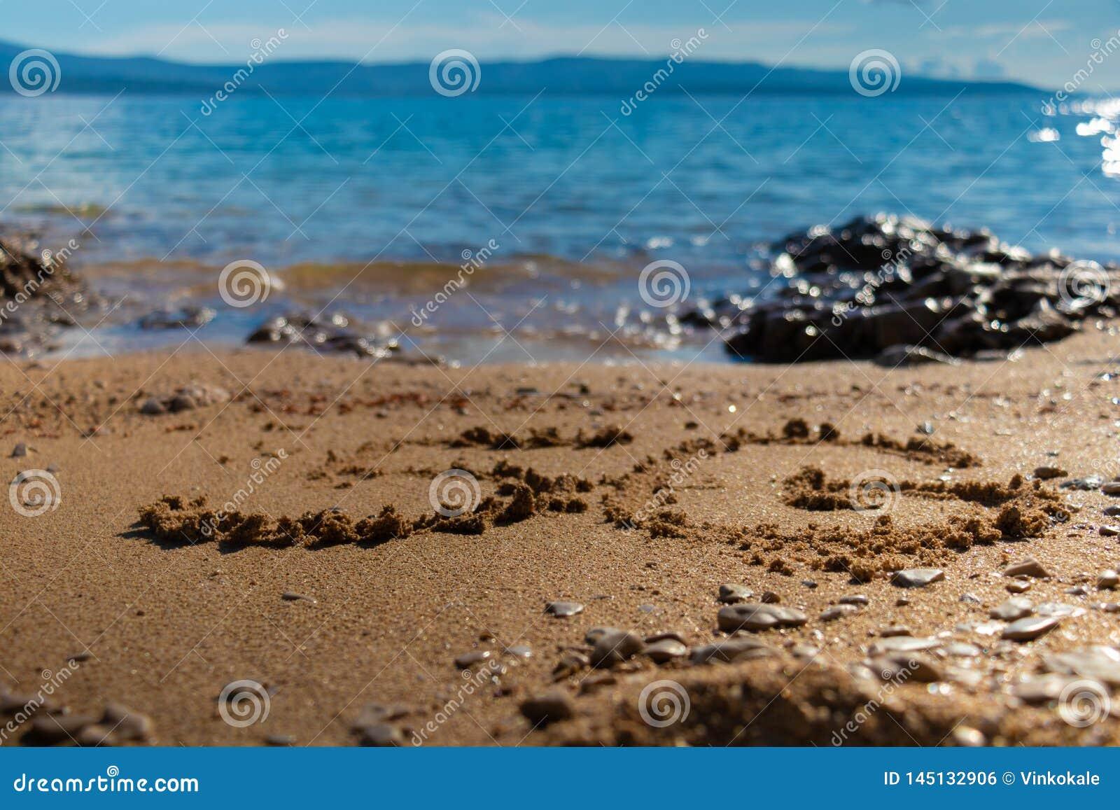 Forma 5G na areia