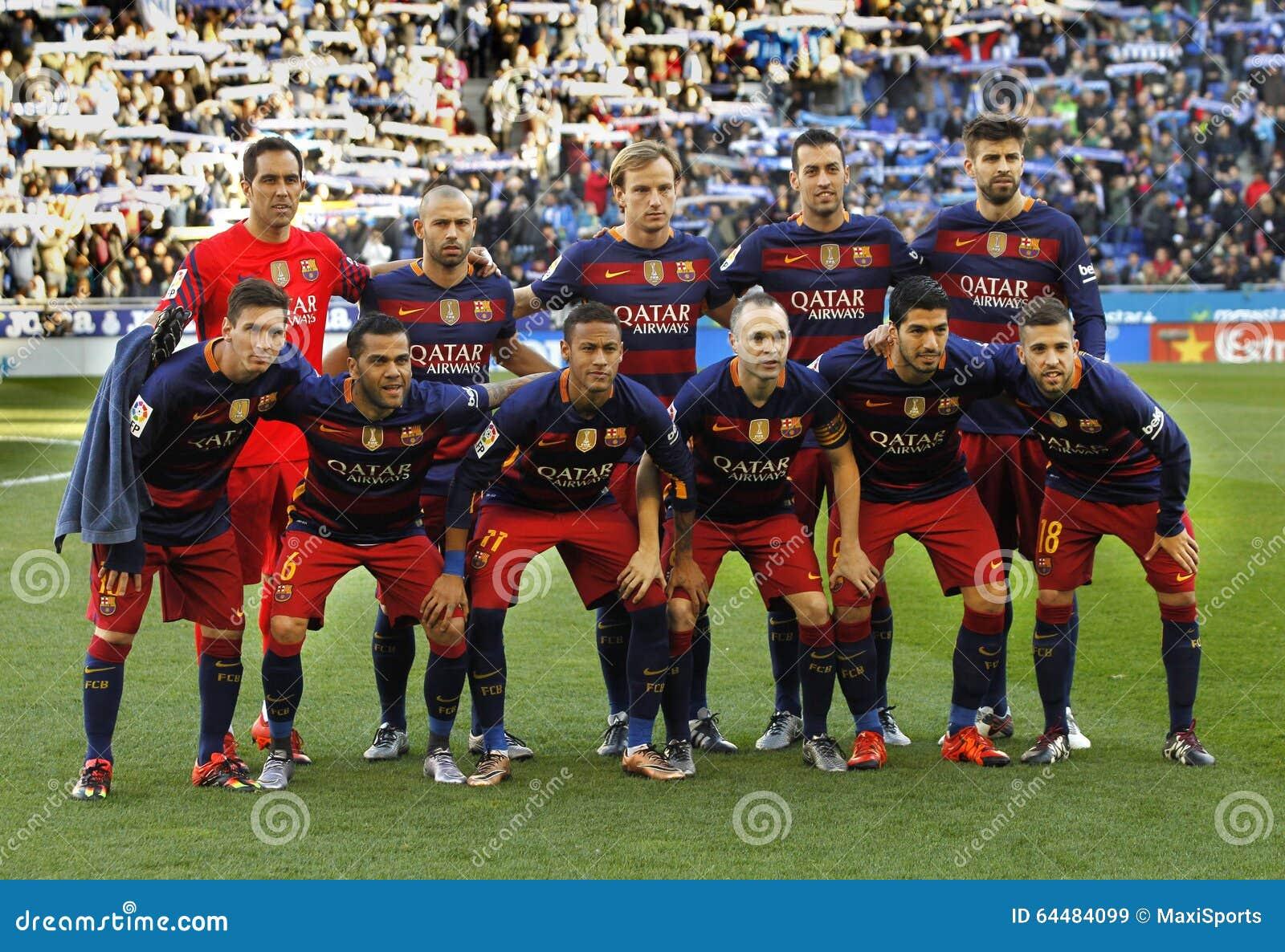 Formación de FC Barcelona
