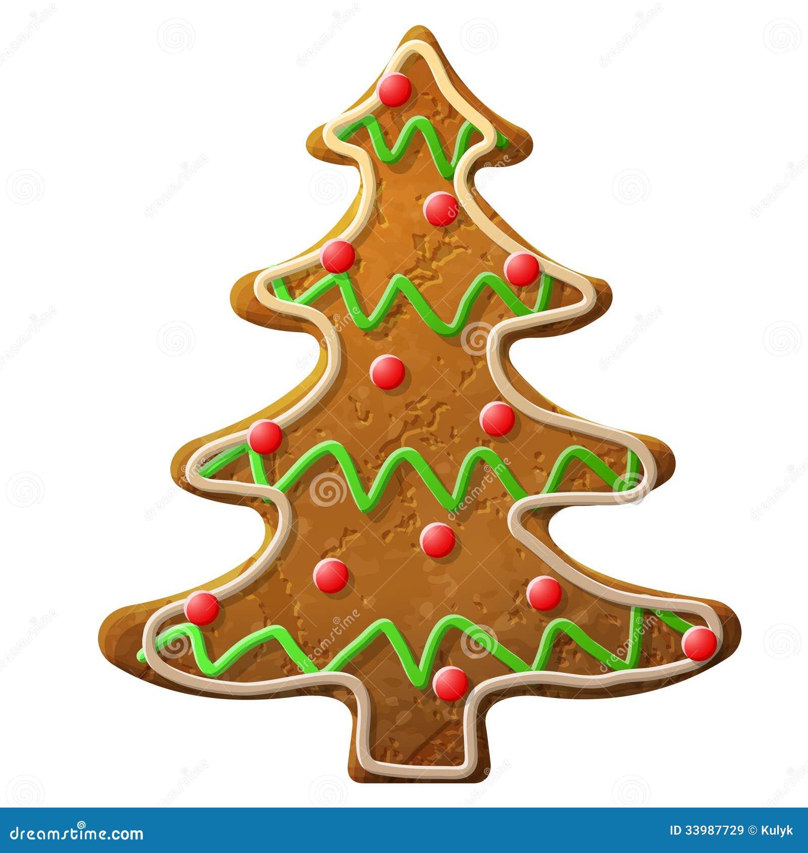 Formación De Hielo Coloreada Adornada árbol De Navidad Del Pan De ...