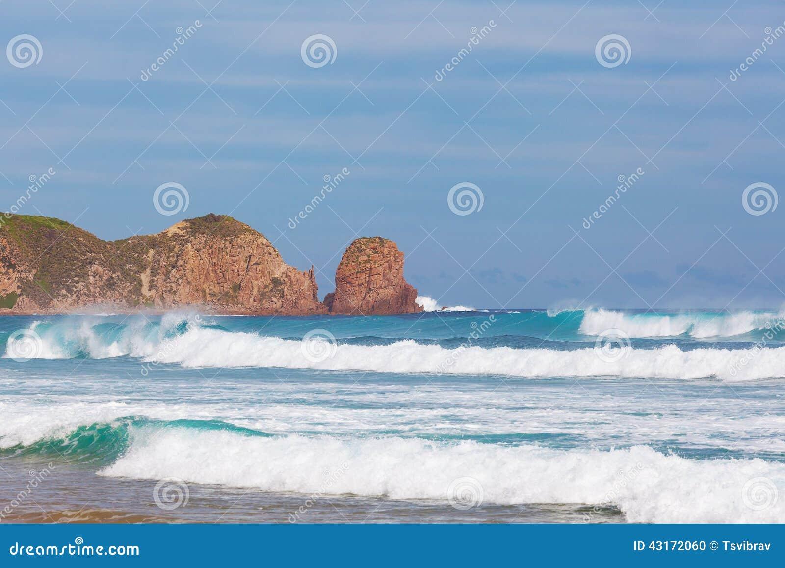 Formación de roca de los pináculos, cabo Woolamai