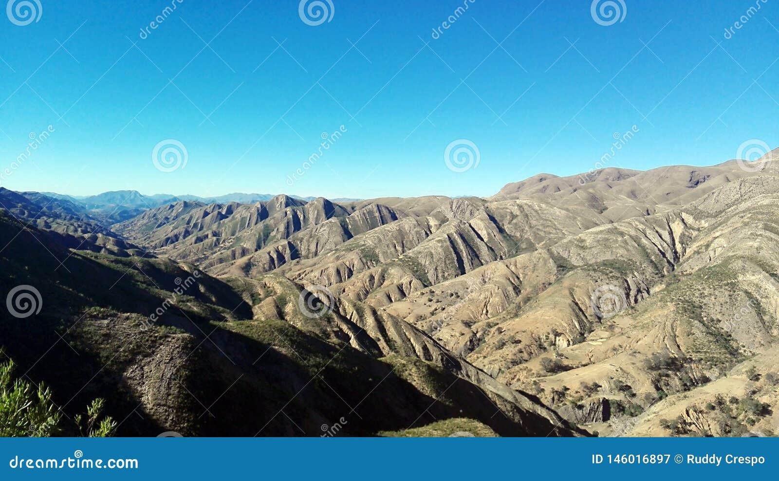 Formación de roca en Toro Toro, Bolivia