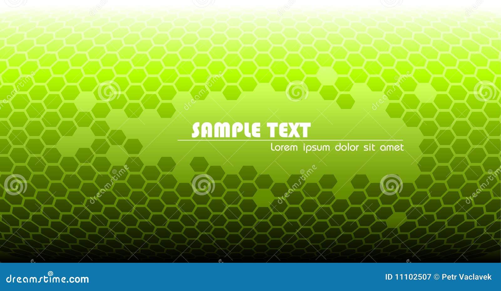 Formación técnica verde abstracta
