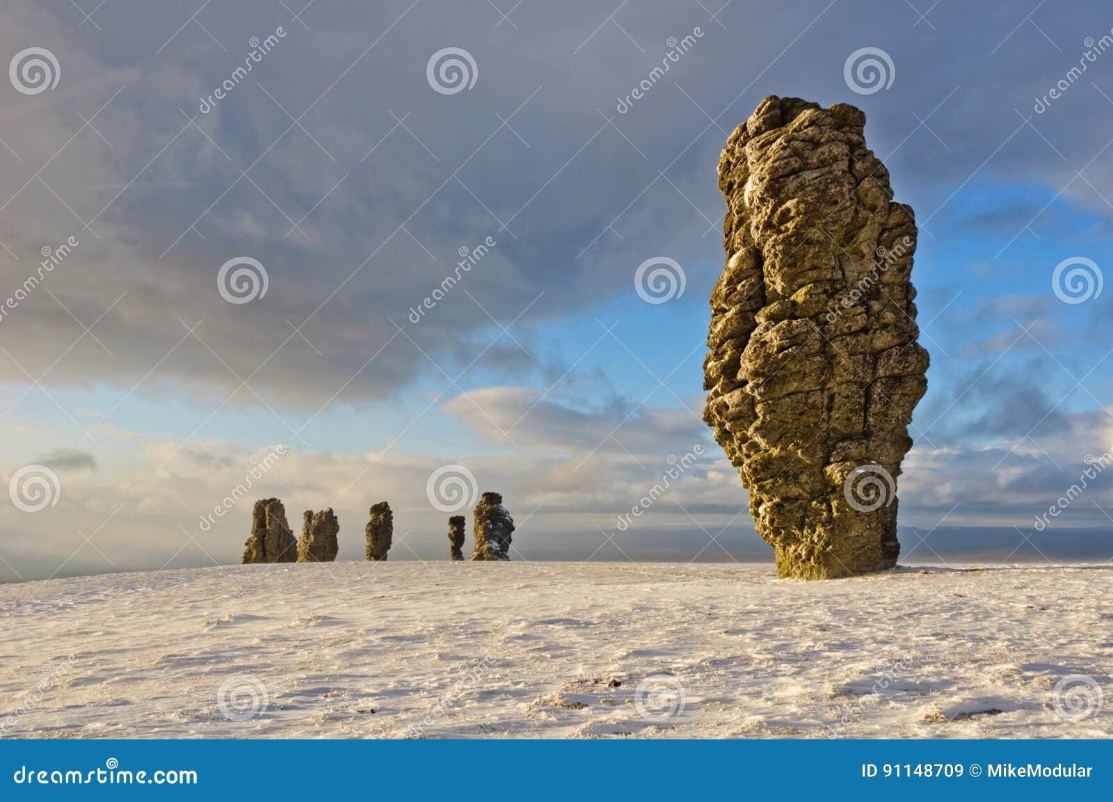 Formaciones de roca de Manpupuner
