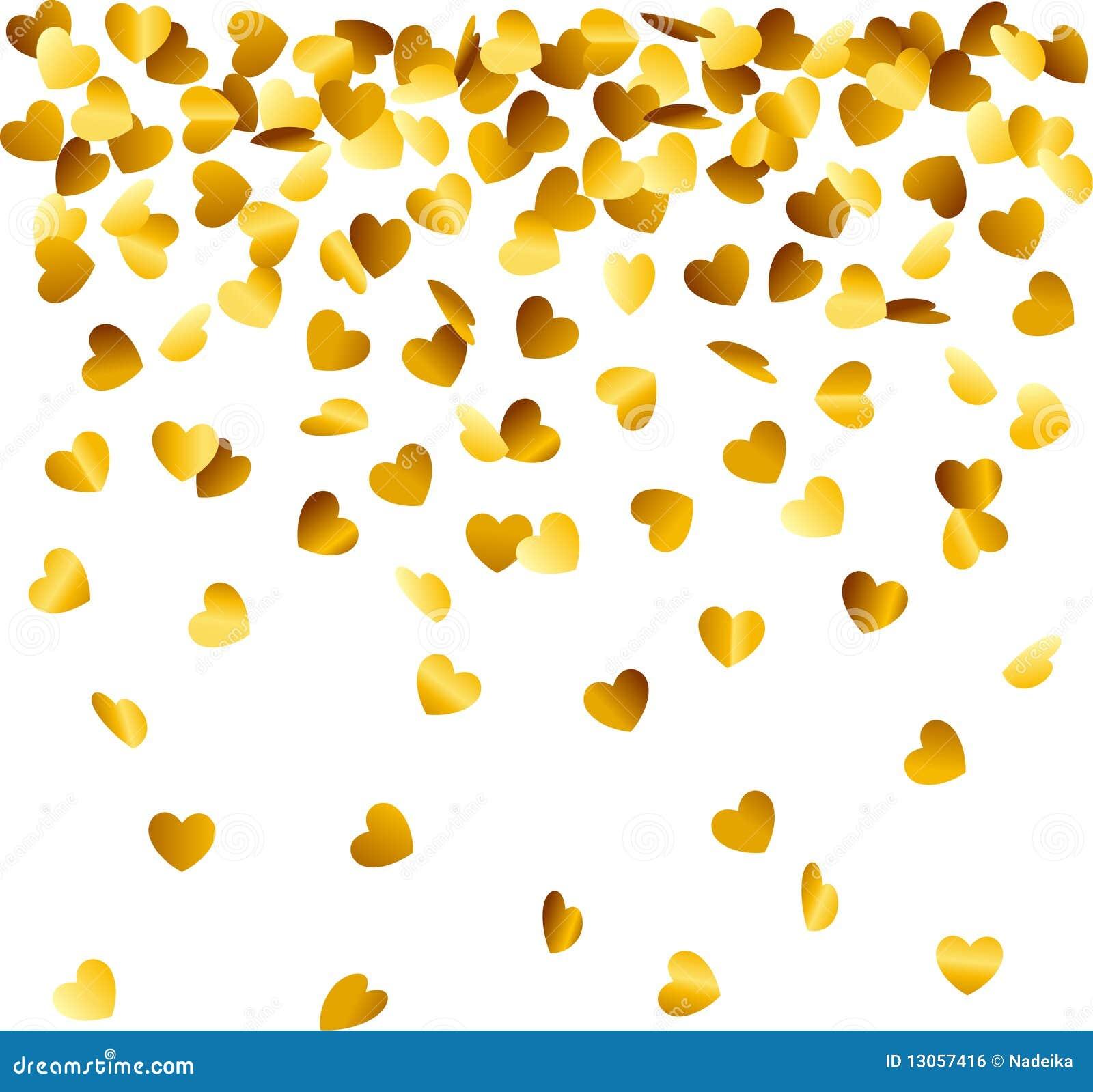 Formad konfettihjärta