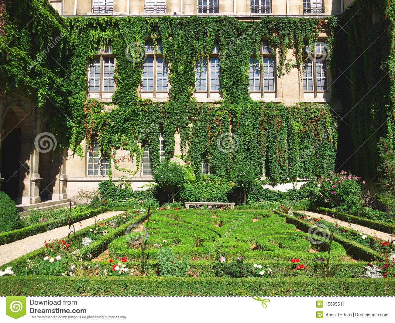 Formal French Garden Stock Image. Image Of French, Park